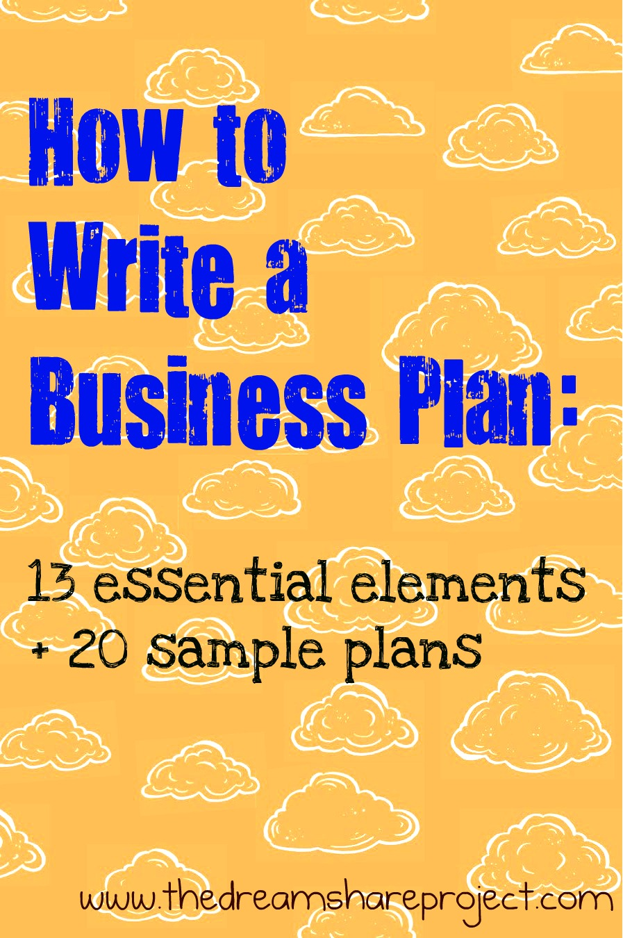 how to write a business plan our blog