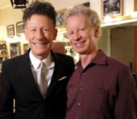 Terry Lickona and Lyle Lovett